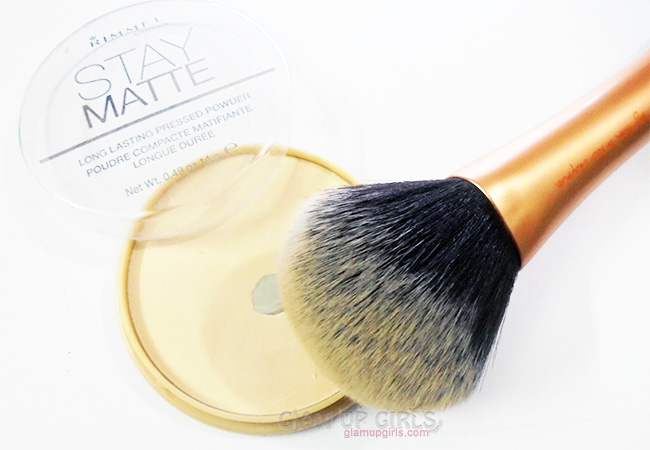 Brush for Setting Powder or Dusting