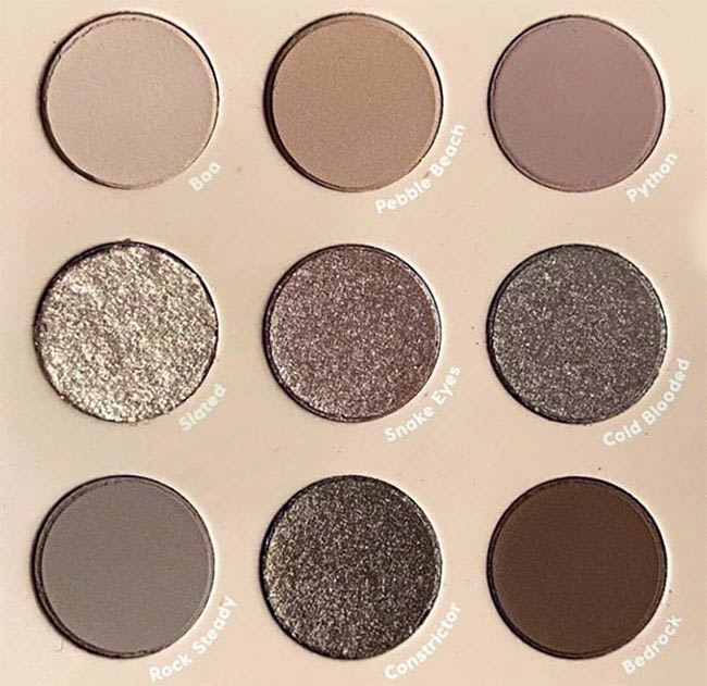 ColourPop That's Taupe Eyeshadow Palette Close up