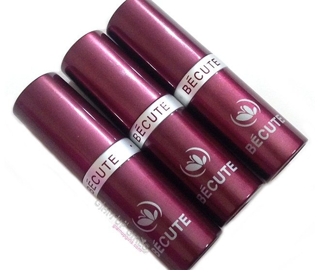 Becute Long lasting Lipstick - Review and Swatches