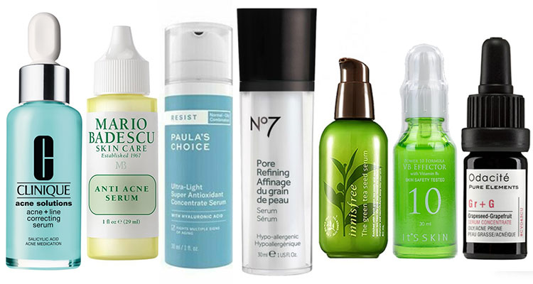 Best Face Serums for Oily and Acne
