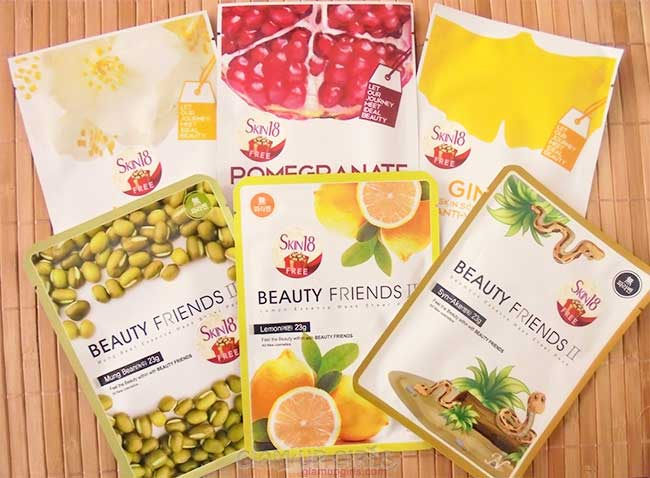 LomiLomi Scheduler and Beauty Friends II Mask from Skin18