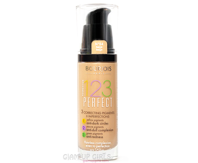 bourjois 123 perfect foundation review and swatches glam up girls. Black Bedroom Furniture Sets. Home Design Ideas