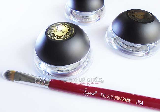 Sigma Beauty Eye Shadow Base Kit in Dare - Review and Swatches