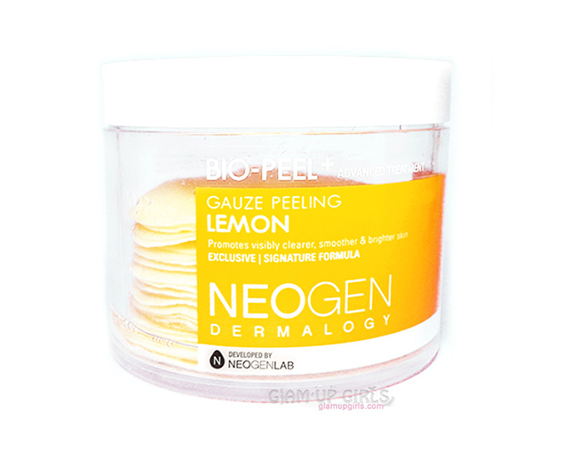 Neogen Dermalogy Bio-Peel Gauze Peeling in Lemon - Review