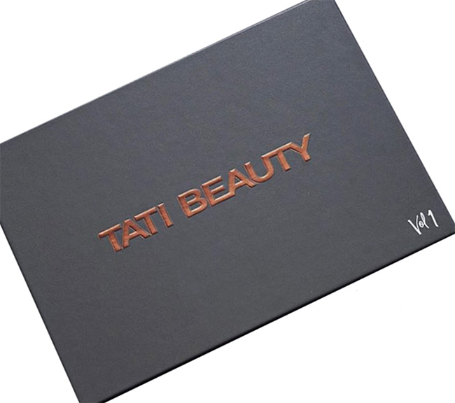 Tati Beauty Textured Neutrals Vol 1 Eyeshadow Palette Packaging