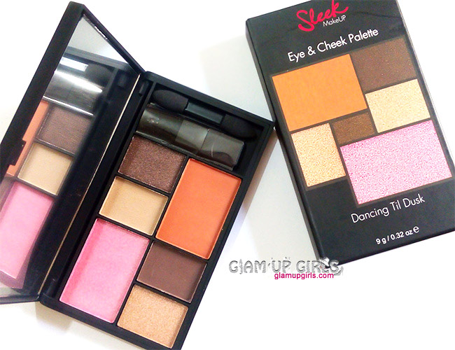 Sleek Makeup Eye and Cheek Palette in Dancing Til Dusk - Review and Swatches