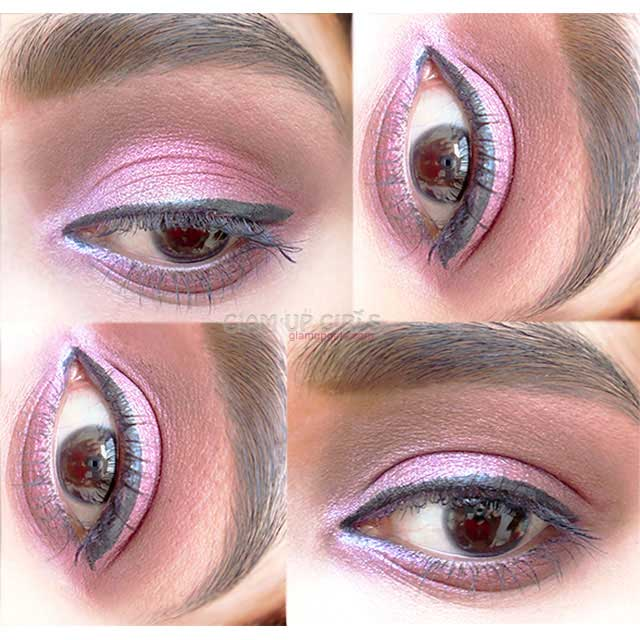 Rose Pink Eye Makeup - EOTD
