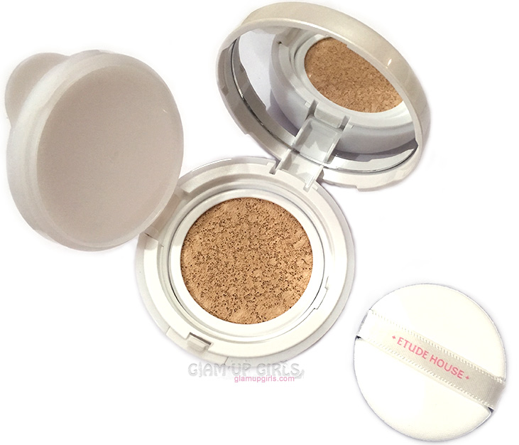 Etude House Precious Mineral Any Cushion Foundation - Review and Swatches