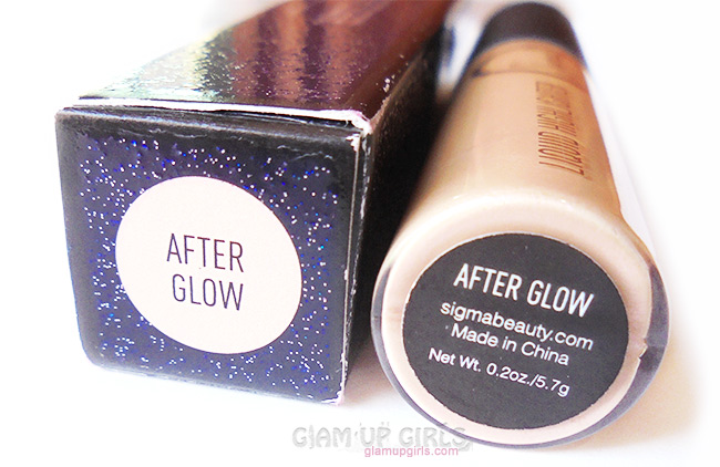 Sigma Beauty Liquid Highlighter Afterglow Review