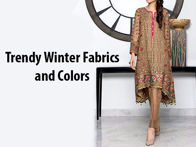 Trendy Winter Fabrics and Colors
