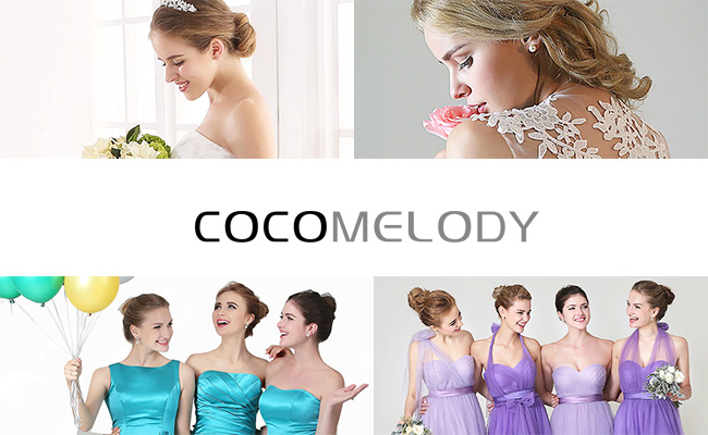 Designer Wedding and Evening Dresses by Cocomelody