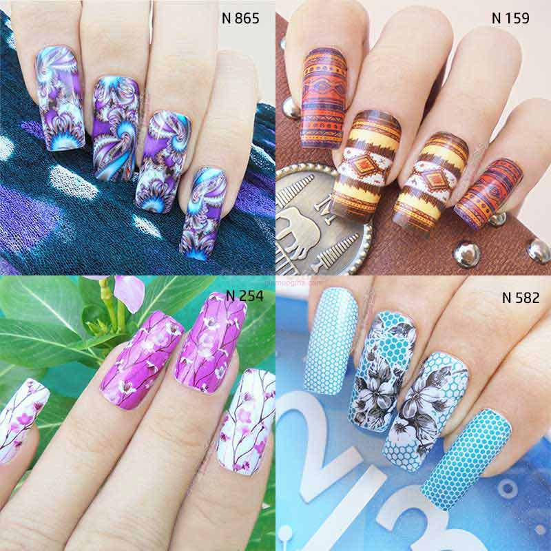 Milvart Water Decals Nail Art 3