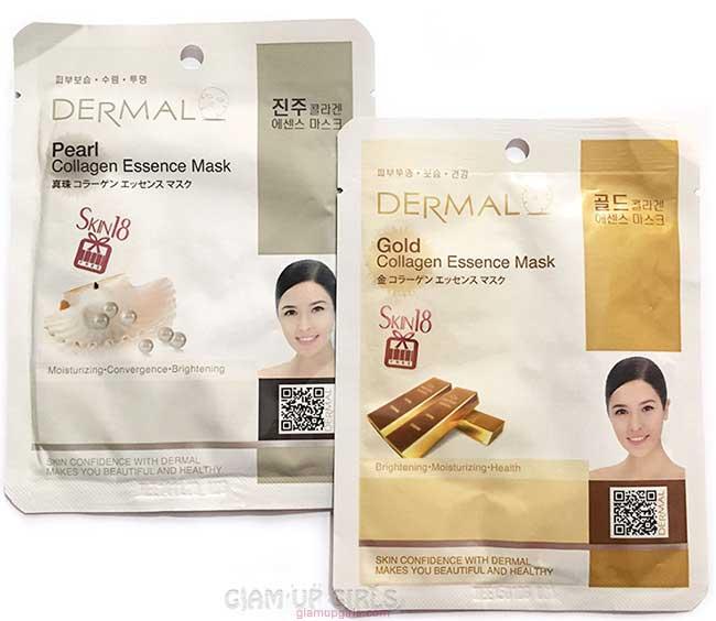 Dermal Collagen Essence Sheet Masks from Skin18 - Review