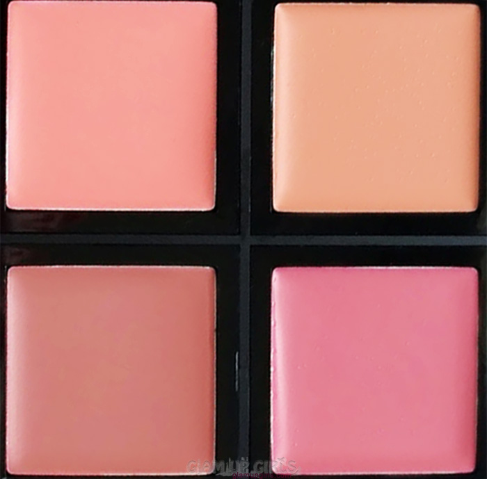 e.l.f. Cream Blush Palette in soft close up