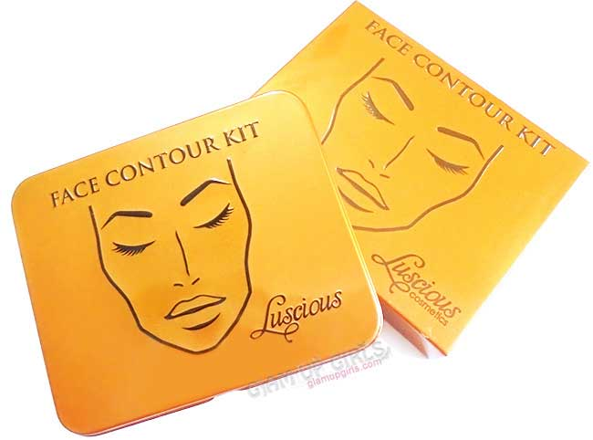 Luscious Cosmetics Face Contour Kit - Review and Swatches