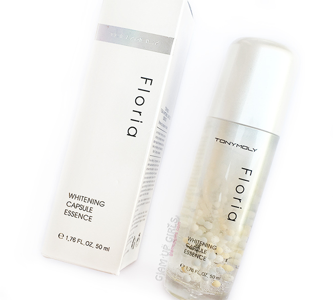 Tony Moly Floria Whitening Capsule Essence - Korean Beauty Product Review