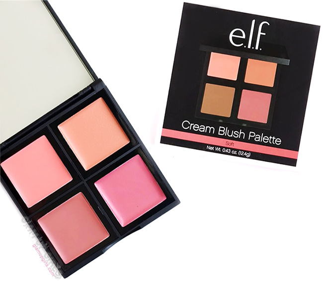 e.l.f. Cream Blush Palette in Soft - Review and Swatches