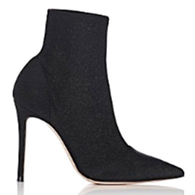 Gianvito Rossi Women's Tech-Knit Ankle Boots -