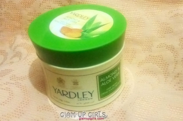 Yardley of London Almond and Aloe Vera Hair Cream - Review