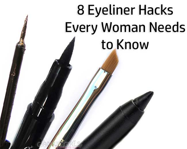 8 Eyeliner Hacks Every Woman Needs to Know