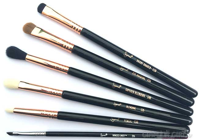 6 Must Have Sigma Eye Makeup Brushes