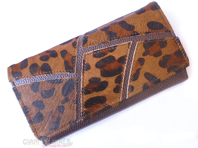 Splicing Embossing PU Leather Wallet