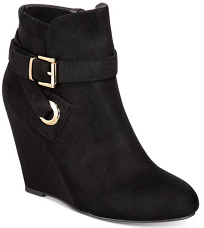 ZIGIny Zigi Soho Keylie Wedge Booties