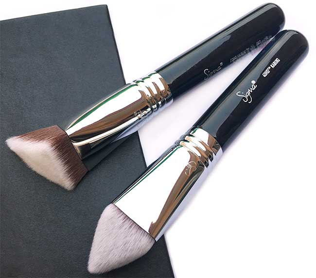 Sigma 4DHD Kabuki and F87 Edge Kabuki Dimensional Face Brushes - Review