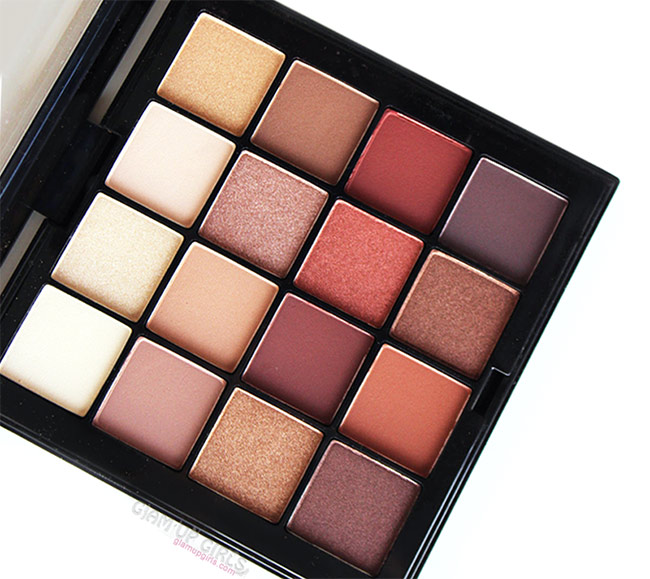 NYX Ultimate Shadow Palette in Warm Neutrals - Review and Swatches