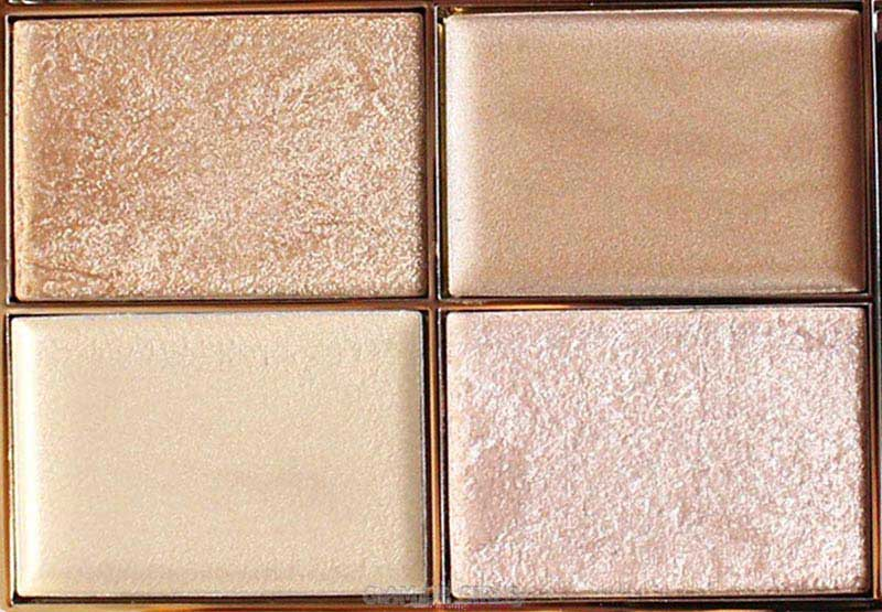 Sleek Makeup Highlighting Palette in Cleopatra's Kiss Close up