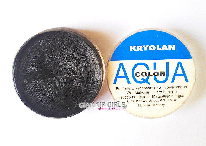 Kryolan Aqua Color Gel Eyeliner - review