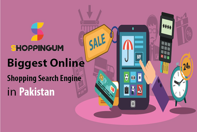 Shoppingum - Pakistan's first ever online shopping search engine