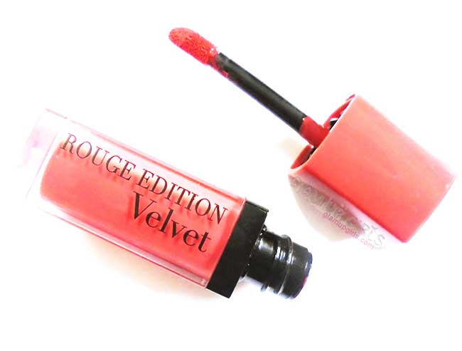 Bourjois Rouge Edition Velvet Peach Club - Review and Swatches