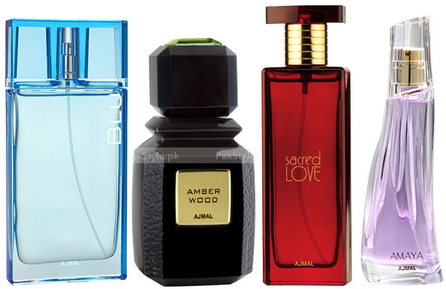 Arabic perfume selection from Ajmal Perfumes