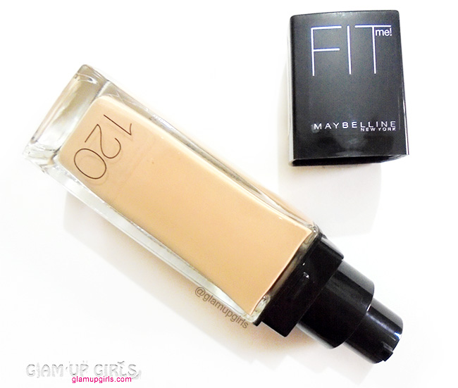 Maybelline Fit Me Foundation - Review and Swatches