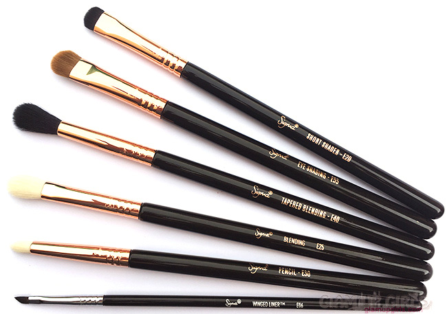 Best Eye Makeup Brushes by Sigma Beauty
