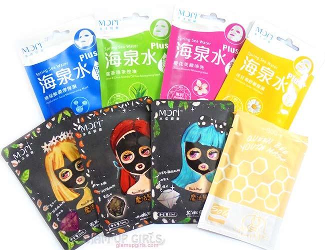 Facial Sheet Masks by Mori and SoQ - Review
