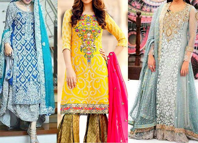 Traditional bridal dresses