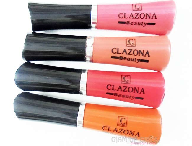 Clazona Beauty 24 Hours Matte Lip Gloss - Review and Swatches
