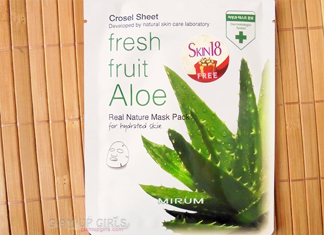 Mirum Fresh Fruit Aloe Real Natural Mask Pack from Skin18
