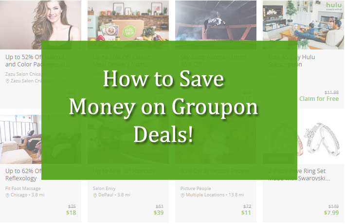 How to Save Money on Groupon Deals!