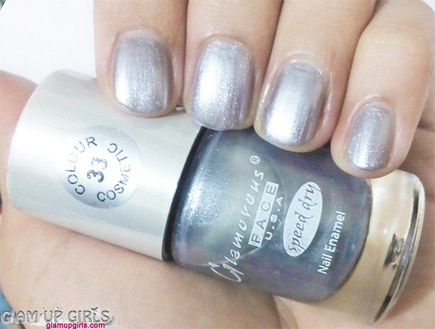 Glamorous Face U.S.A Speed Dry Nail Polish in shade 33
