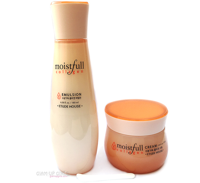Etude House Moistfull Collagen Emulsion and Cream - Review