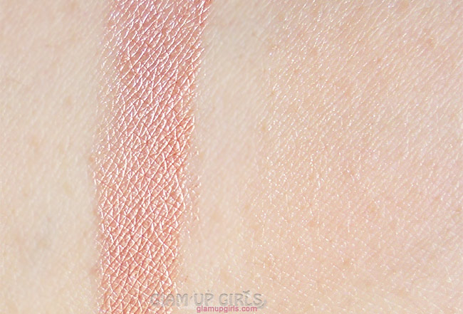 NYX Born to Glow Liquid Illuminator in Gleam swatches