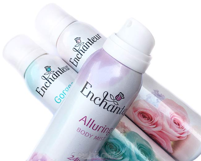 Enchanteur Body Mist in Alluring, Gorgeous and Romantic review