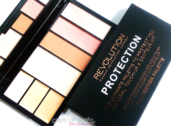 ... Makeup Revolution Protection Palette in Light/Medium - Review and Swatches ...