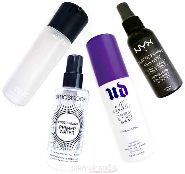 Best Makeup Setting Spray from Budget Friendly and High End - Review and Comparison