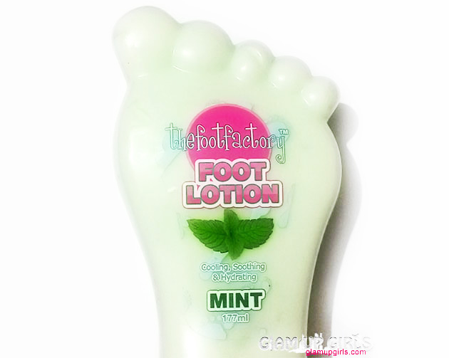 Thefootfactory Foot Lotion in Mint - Review