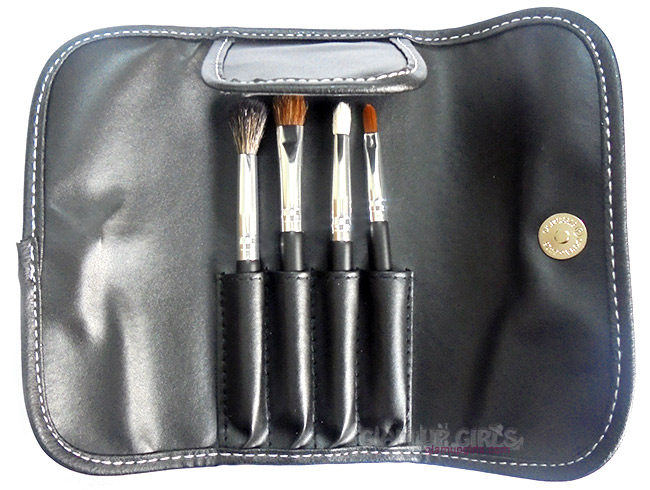 BH Cosmetics Eye Essential To Go - 4 Piece Brush Set